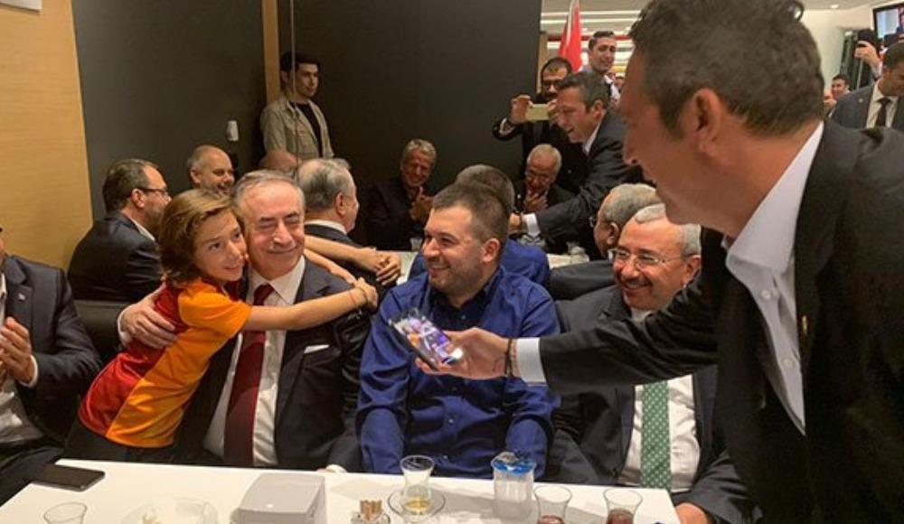 Galatasaray ve Fenerbahçe derbisinde anlamlı fotoğraf