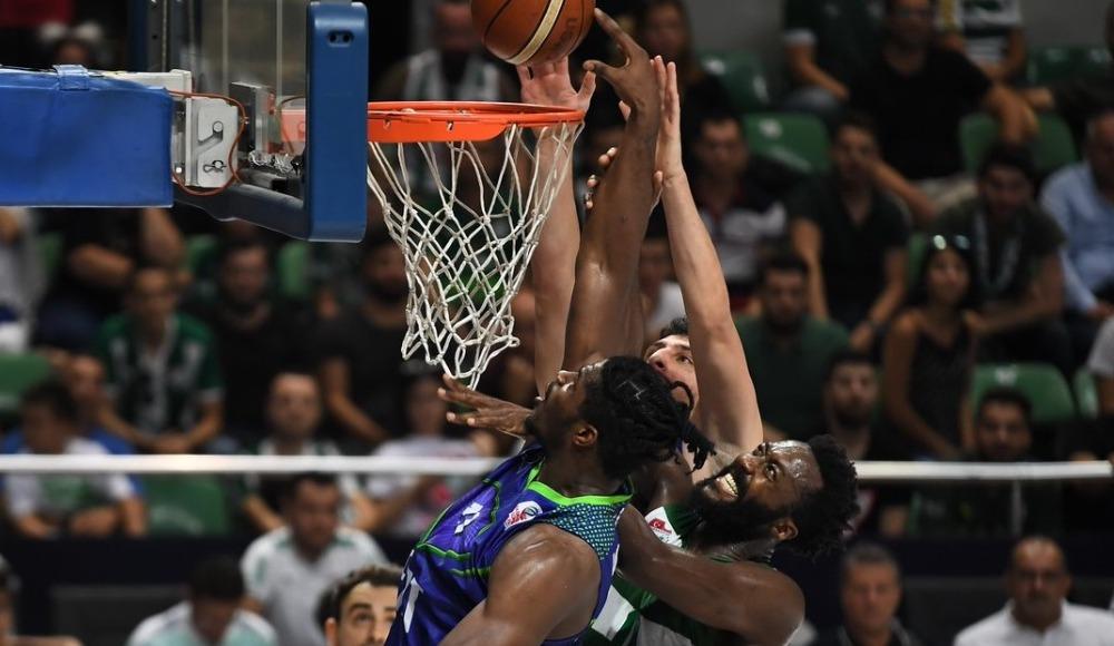 Bursaspor, TOFAŞ'ı 80-76 yendi
