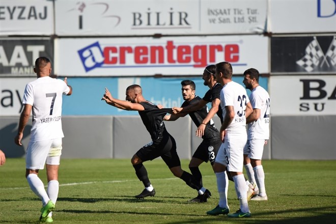 Manisa Futbol Kulübü, evinde Sarıyer'i 2-0 mağlup etti