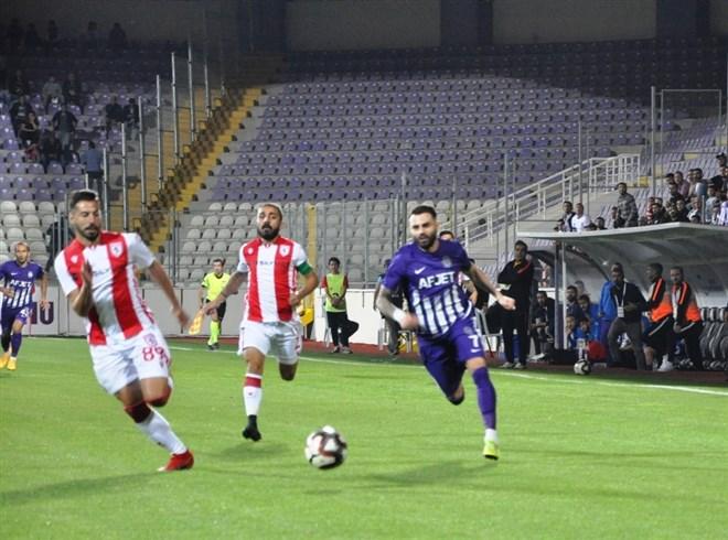 Afyonspor , sahasında Yılport Samsunspor'a 1-0 mağlup oldu