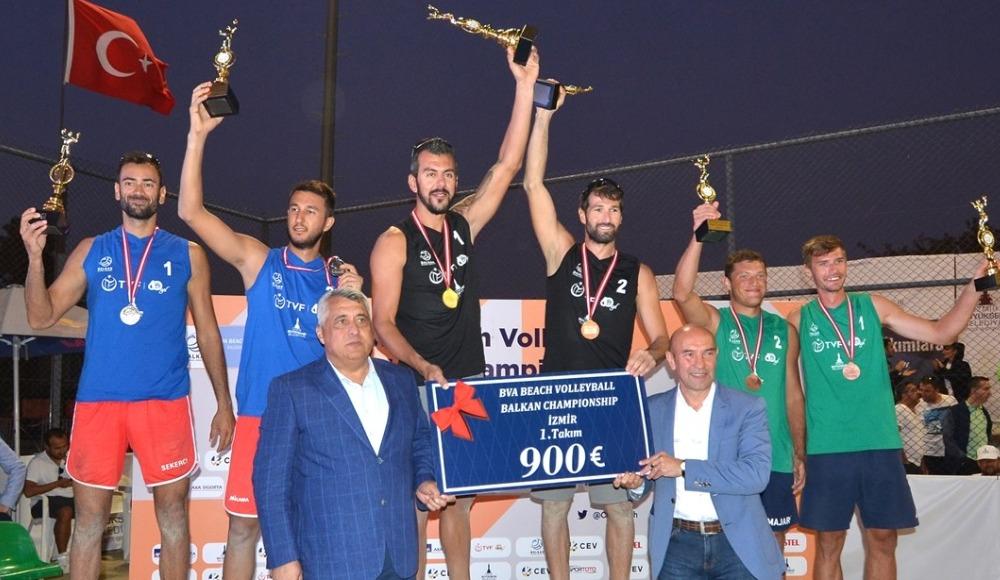2019 BVA Plaj Voleybolu Balkan Şampiyonası sona erdi