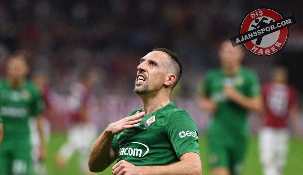 """Franck Ribery: """"Yaşlıyım, ama sahada kendimi genç hissediyorum"""""""
