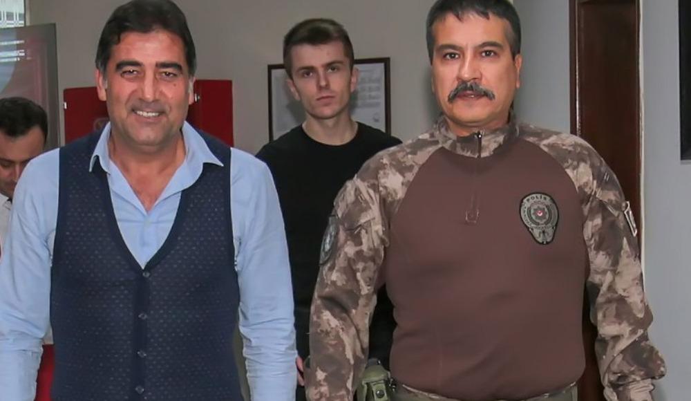 Ünal Karaman'dan Trabzon İl Emniyet Müdürü Alper'e ziyaret