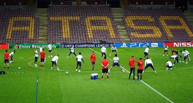 PSG, Galatasaray maçı hazırlıklarını tamamladı