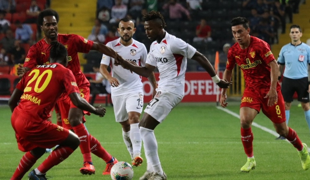 Göztepe, Gazişehir Gaziantep'e dur dedi! 1-1