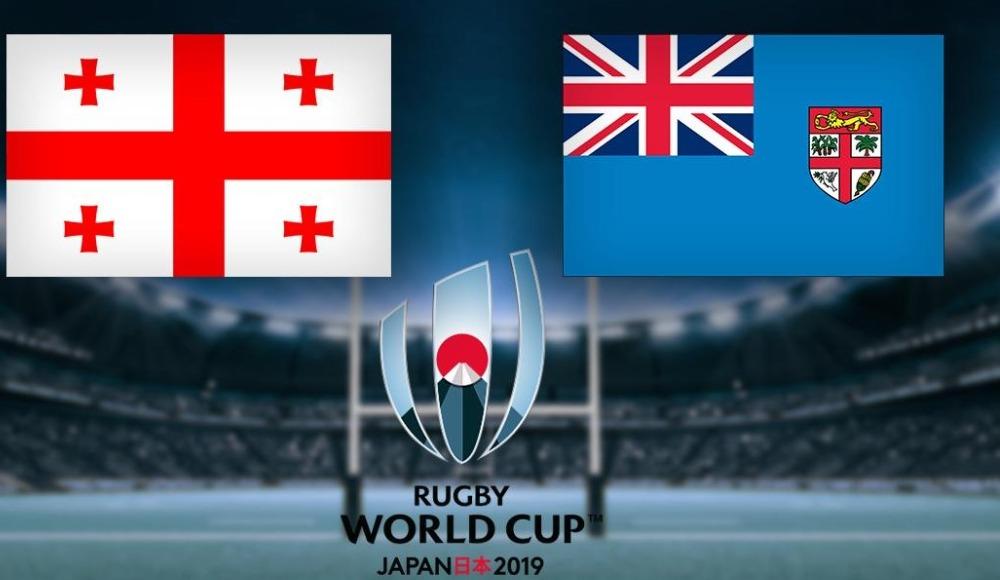 Gürcistan - Fiji, Dünya Ragbi Şampiyonası S Sport YouTube kanalında