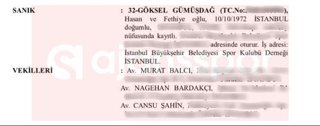 Göksel Gümüşdağ'ın avukatları, Murat Balcı ve Cansu Şahin...