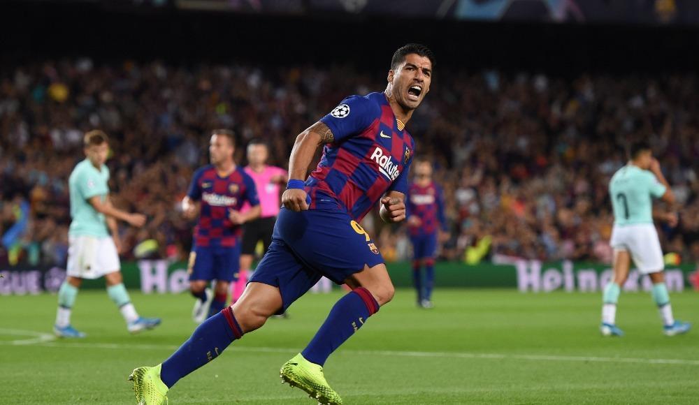 Barcelona, Luis Suarez'le güldü!