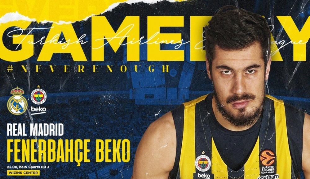 Real Madrid - Fenerbahçe Beko (Canlı Skor)