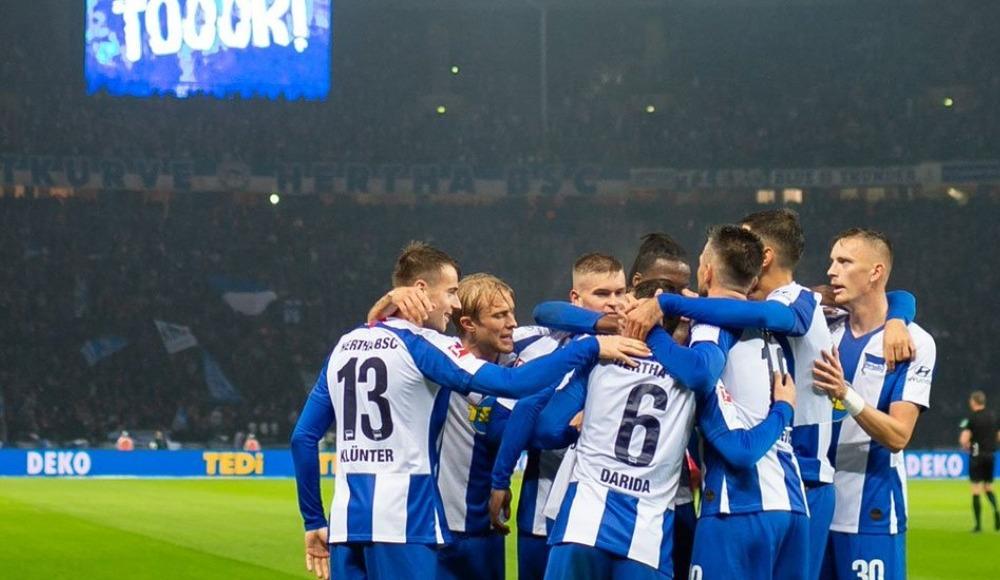 Hertha Berlin, sahasında Fortuna Düsseldorf'a şans tanımadı!