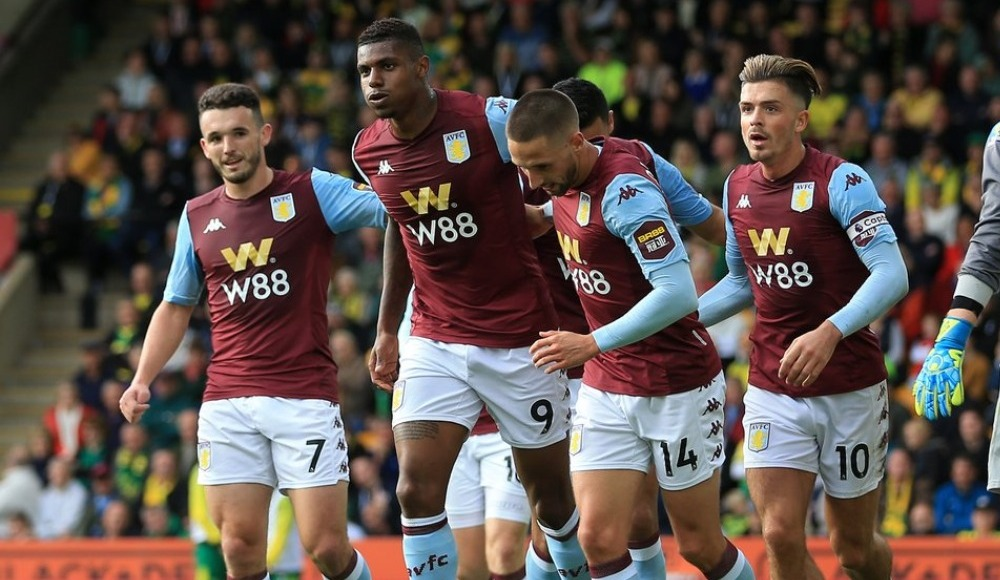 Aston Villa, Norwich'i 5 golle geçti!