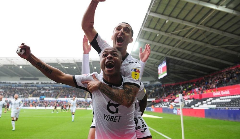 Andre Ayew'in golü Swansea City'ye yetmedi! 1-2