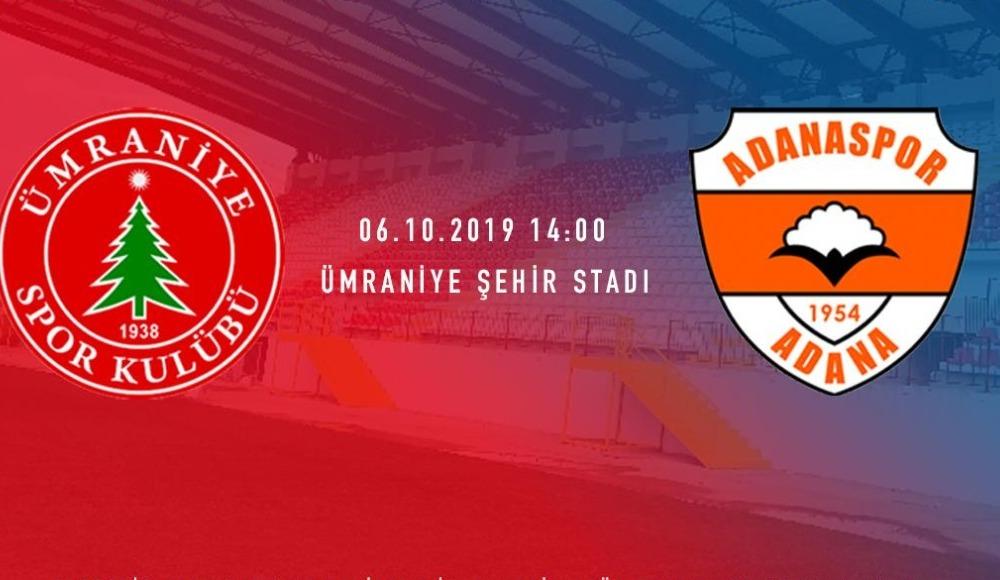 Ümraniyespor - Adanaspor (Canlı Skor)