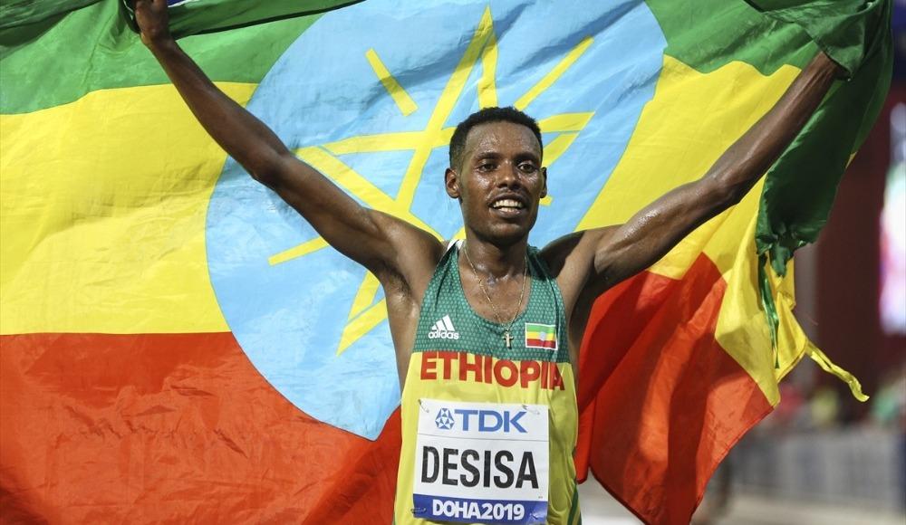 Maratonda altın madalya Desisa'nın!
