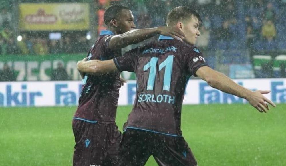 Trabzonspor'un 12 farklı oyuncusu gol attı
