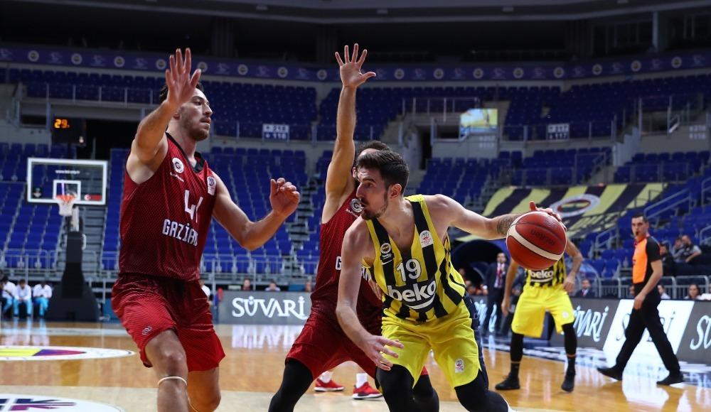 Fenerbahçe Beko seyircisiz maçta kazanan taraf oldu!