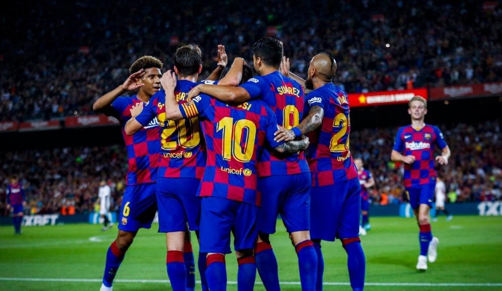 Barcelona 4 golle çok rahat kazandı!