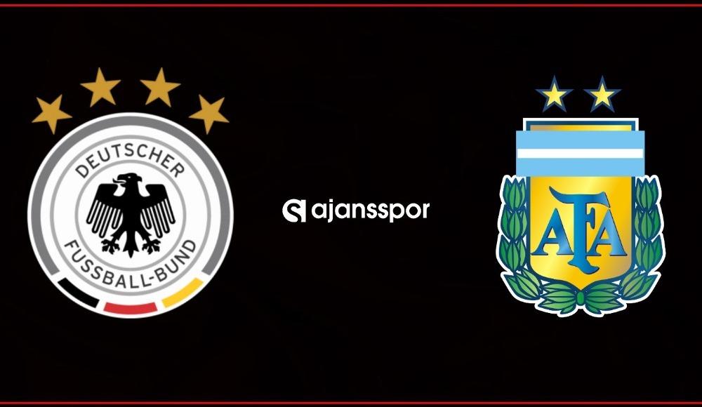 Almanya - Arjantin maçı canlı izle!