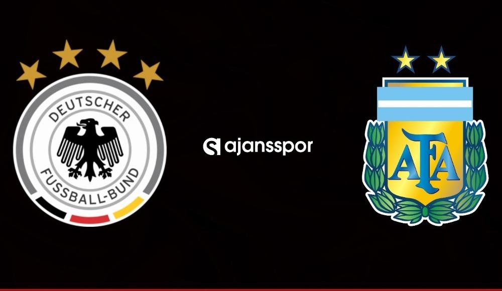 Almanya Arjantin maçı kaç kaç?