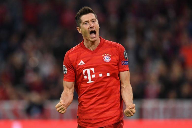 Gol makinesi Lewandowski durdurulamıyor!