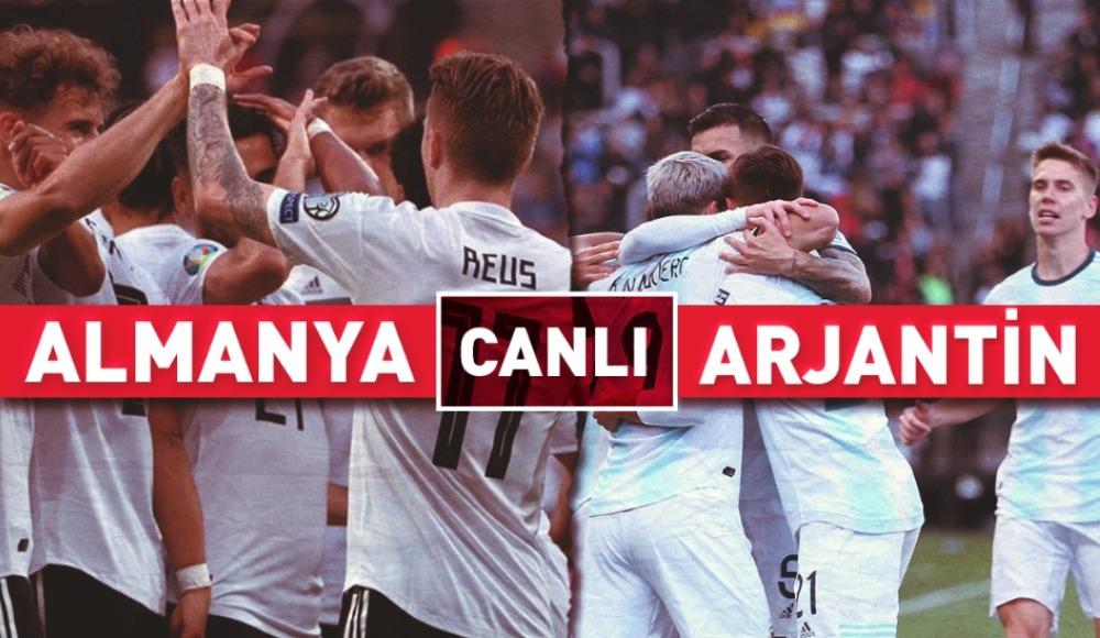 CANLI | Almanya - Arjantin