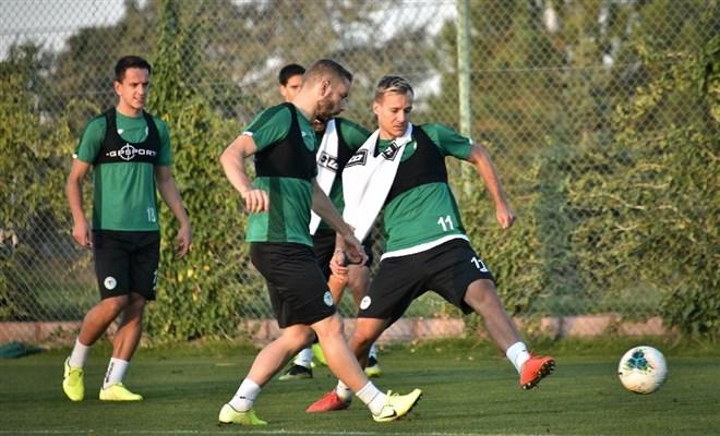 Konyaspor'da 3 günlük izin sonrası hazırlıklar başladı
