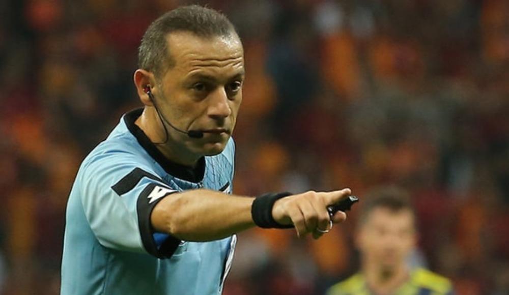 Cüneyt Çakır'a UEFA'dan kritik görev!