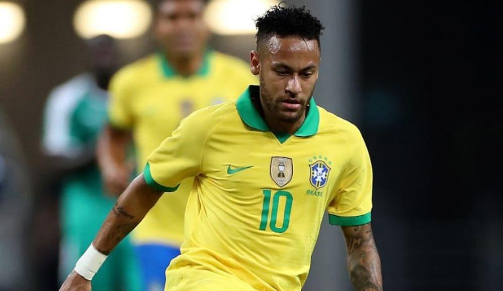 """Neymar'dan milli takımda """"dalya"""""""