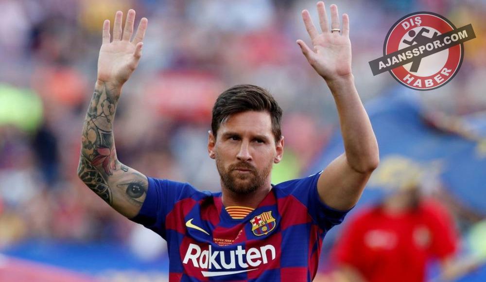 Messi'den ömür boyu sözleşmeye yeşil ışık!