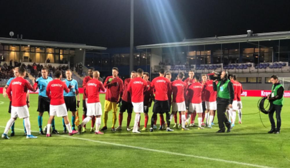 Ümit milli futbolcular, Avusturya'ya 3-0 yenildi