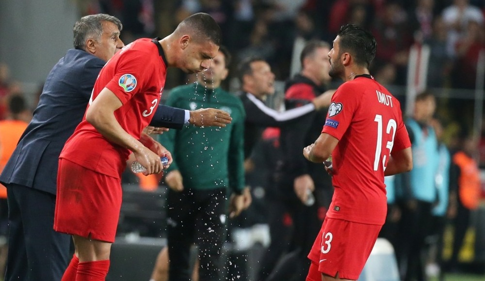 İrfan Can, Hakan Çalhanoğlu ve Merih, Arnavutluk maçını değerlendirdi