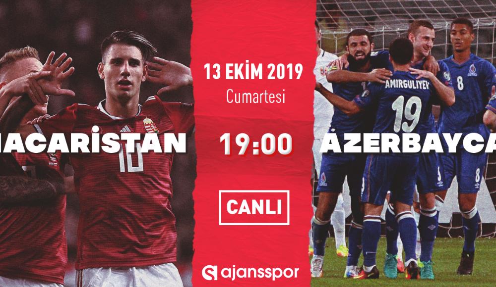 Macaristan - Azerbaycan (Canlı Skor)