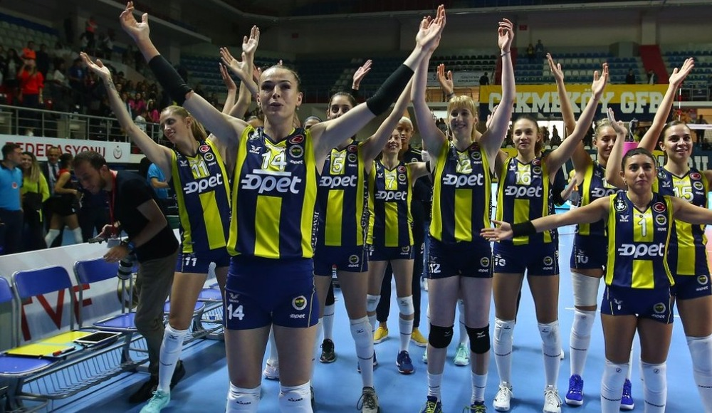 Fenerbahçe Opet, Türk Hava Yolları'nı 3-2 yendi