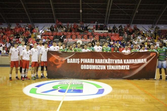 Balıkesir Büyükşehir Belediyespor, Bandırma Kırmızı'yı 68-67 mağlup etti