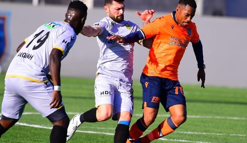 Başakşehir, hazırlık maçında Yeni Malatyaspor'u 1-0 yendi