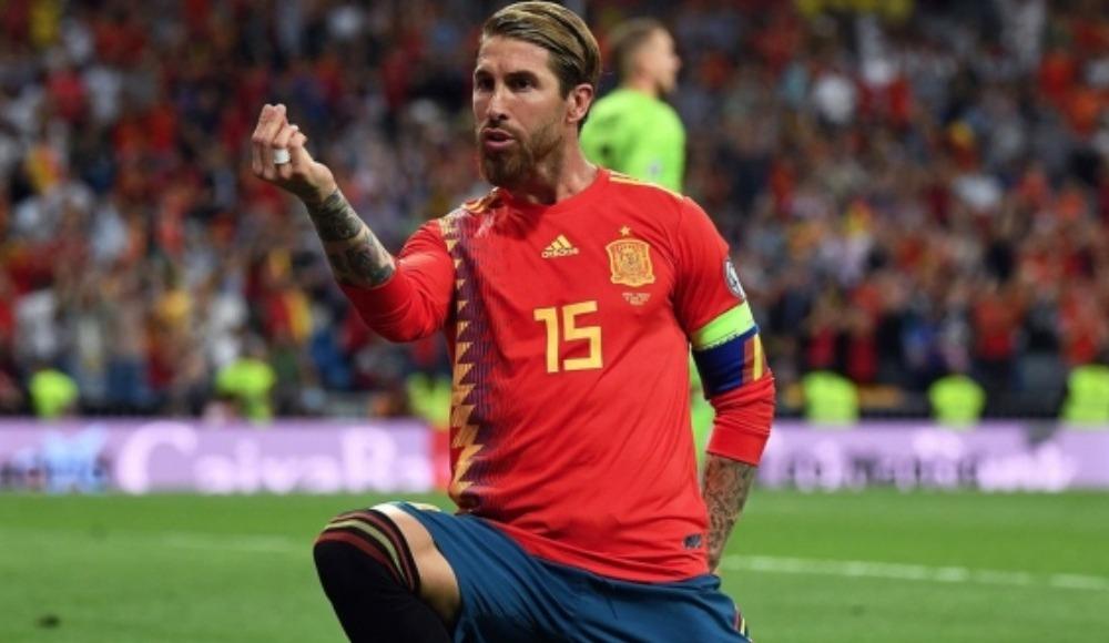 Sergio Ramos, İspanya tarihine geçti!