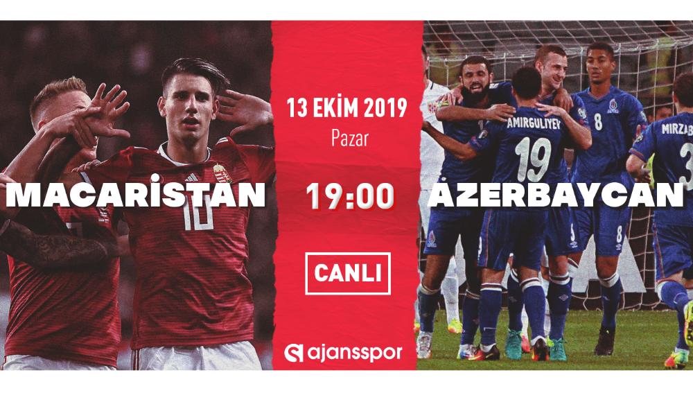 Macaristan - Azerbaycan CANLI