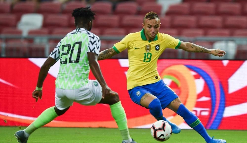 Brezilya ile Nijerya 1-1 berabere kaldı