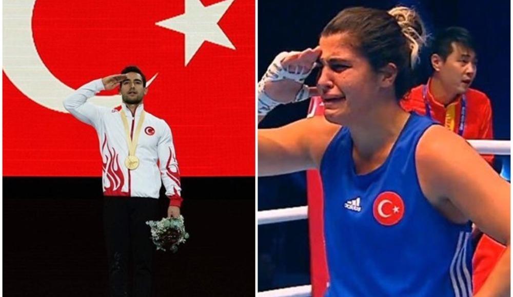 Milli sporculardan madalya rüzgarı