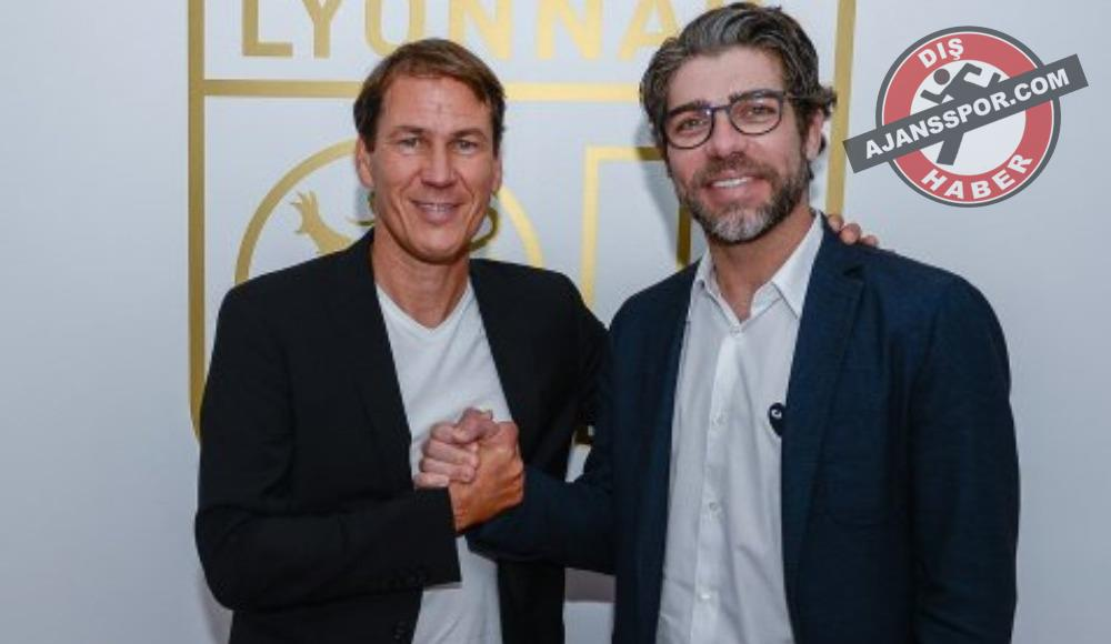 Lyon'un yeni teknik direktörü Rudi Garcia oldu