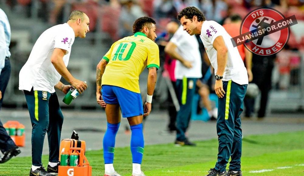 PSG'de Neymar şoku! 4 hafta...