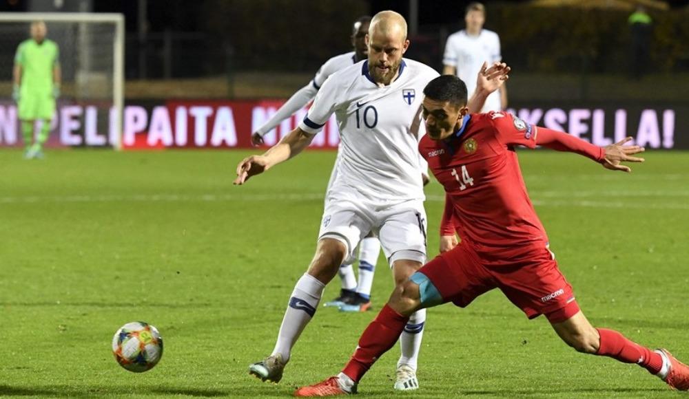 Finlandiya, sahasında Ermanistan'ı 3 golle geçti!
