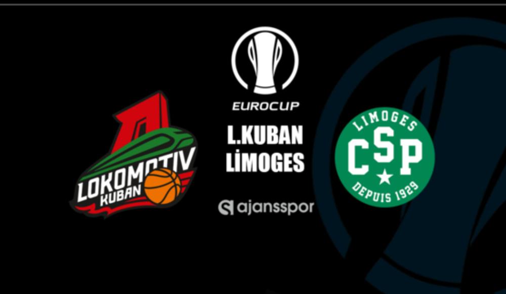 Lokomotiv Kuban – Limoges (Canlı skor)
