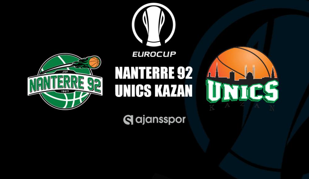 Nanterre 92 - Unics Kazan Canlı İzle