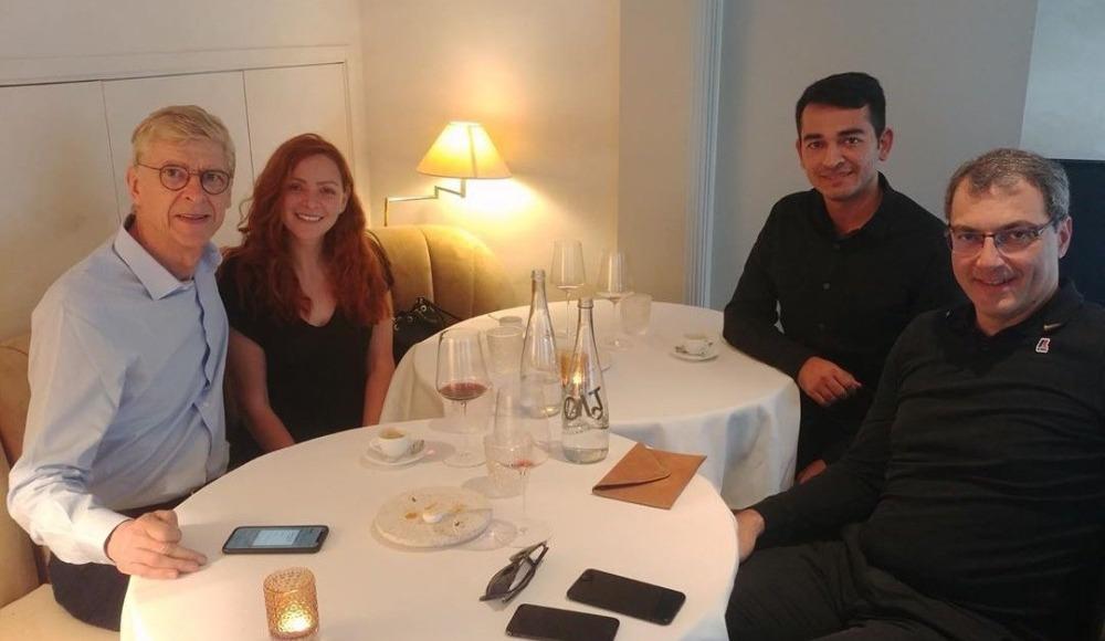 Comolli ile Wenger yemekte buluştu