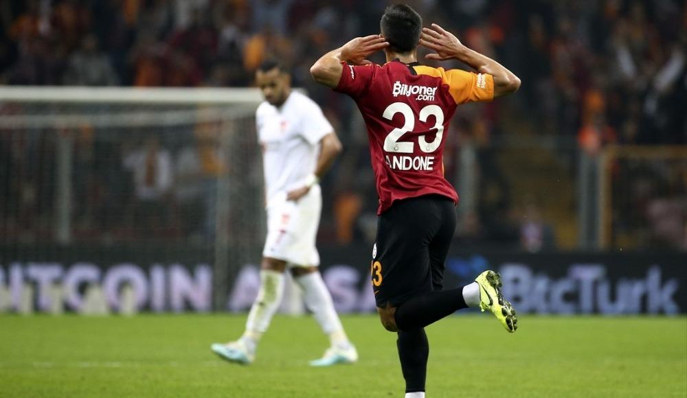 Andone Galatasaray'da ilk golünü attı!