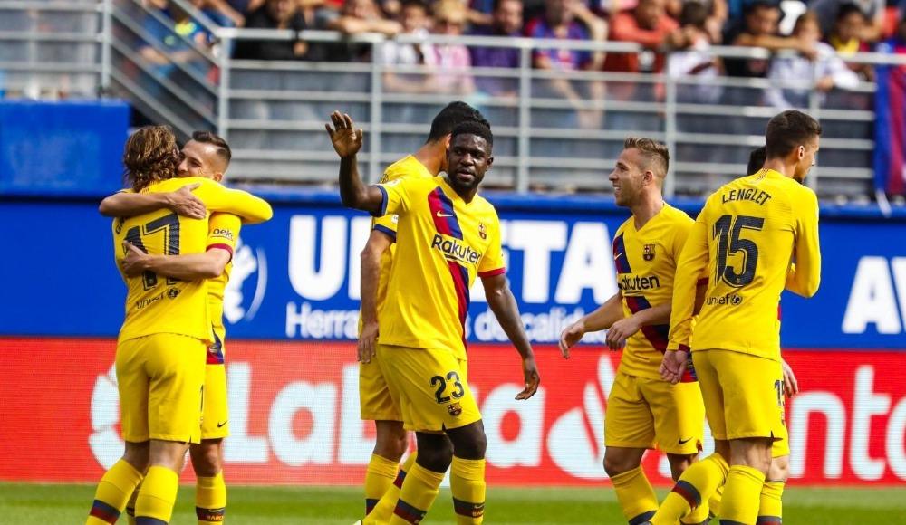 Barcelona, Eibar deplasmanından 3 golle çıktı!