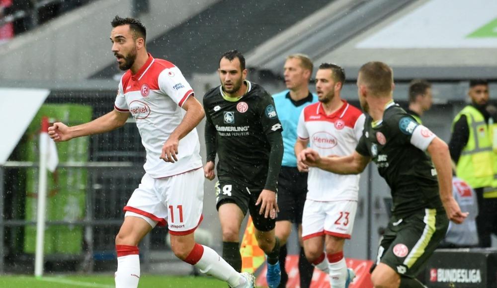 Kenanlı Düsseldorf, Mainz'i tek golle yendi