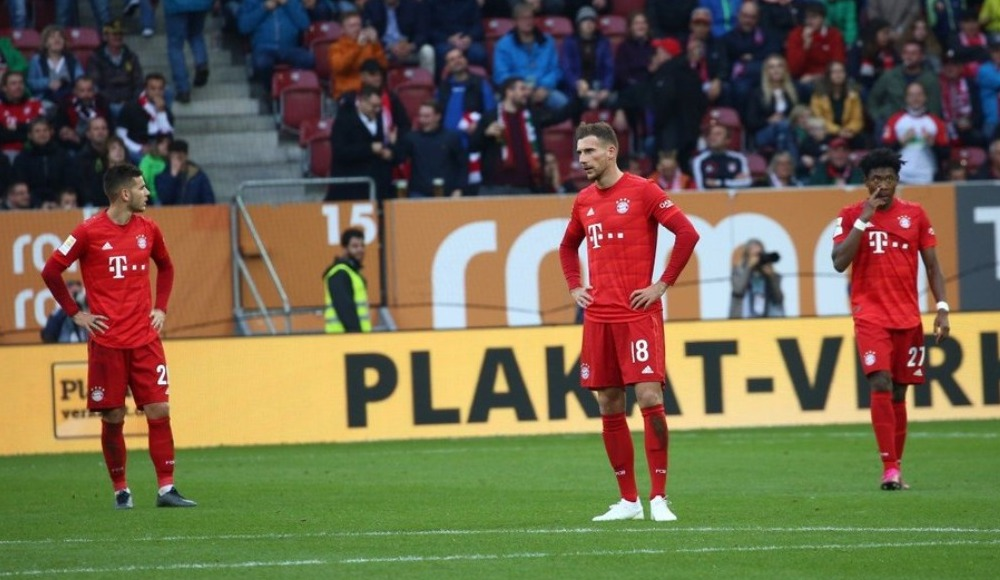Bayern Münih'e Augsburg şoku: 2-2!