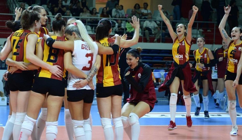 Galatasaray HDI Sigorta, deplasmanda Beşiktaş'ı 3-1 yendi